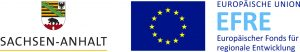 Wappen Sachsen-Anhalt & Logo Europäischer Fonds für regionale Entwicklung